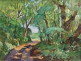 2000-В лесу.Июль-хм-45х60-