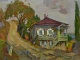 94-Казачий дом, октябрь-хм-45х60