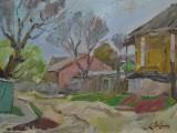 2003-Станичная улица. Весна,раздоры-хкм-29и5х39