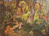 2008-Лесной родник.Осень-хм-58х78-
