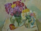 2001-Осенние цветы-хм-40х50