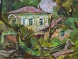 2002-розовый курень Смоляковых-км-40х50