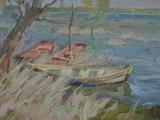 2003-Весна. Половодье. Раздоры-хкм-30х48