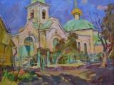 2005-Одигитриевский храм в г. Аксае-хм-40х53