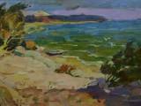 2005-Осеннее ветрище-хм-40х55