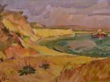 2007-Золотой берег Красного Яра-хм-43х73