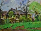 2008-Весна. Заброшенный дом. Кочеванчик-км-40х50