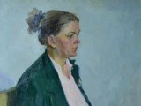 57-Женский портрет-хм-79х60