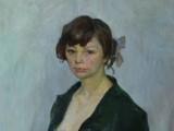 58-Портрет молодой женщины-хм-108х65