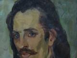60-Мужской портрет-хкм-40х30