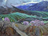 63-Весна в горах-км-50х68