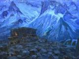65-Ночь в горах-хм-51х70