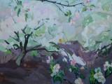 66-Весенний сад-хкм-48х66