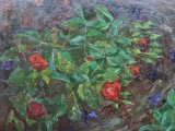 71-Сумеречные цветы-км-62х50