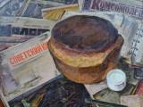 75-Горячий хлеб. 1975 год-хм-57х57