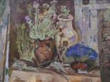 88-Натюрморт степной. Серия Поэма о земле Дона-хкм-49х70