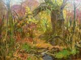 90-Октябрь листопадный. Из серии красота и драма Северной балки-хкм-60х80