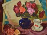 90-Цветы-хм-35х50