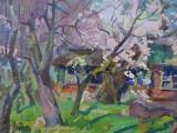 95-Весна на даче-хкм-30х40