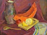 98-Натюрморт с лимоном-хм-40и5х50