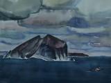 72-73-Охотское море.Из серии Д.Восток-б акв-47х58