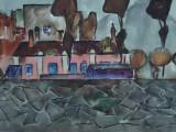 72-Диомид.Из серии Д.Восток-б акв-44х69