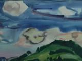 73-Облачный день.Из серии Курилы-б акв-36х59