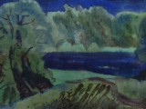 76-Островное.Из серии Вешенская земля-б акв-41х62